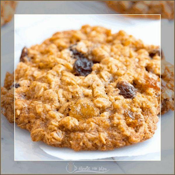 Cookie Με Σταφίδες και Ξηρούς Καρπούς (Ατομικό)